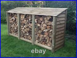 Log Store, Extra Large Heavy Duty Pressure Treated