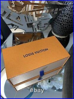 Louis Vuitton Sunglasses Truck Case Box Pouch Booklet Set Large Storage Jewelry