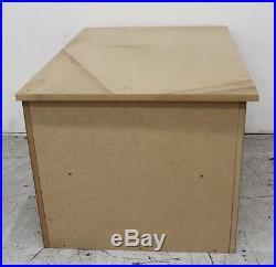 MDF Unfinished Untreated Handmade XL Large Shoe Storage Box 82 x 52 x 62cm