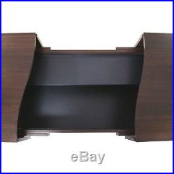 Modern Wooden Coffee Table Furniture Living Room Sliding Tops Large Storage Box