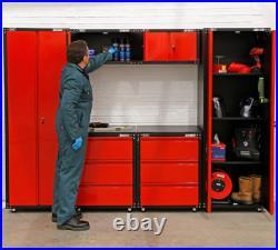 Modular Metal Garage Storage Cupboards/Wall Shelving Units/Tool Box/Workbench