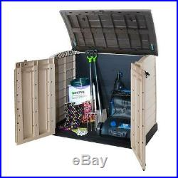 NEW Range Extra Large ARC Keter Storage Box Garden Outdoor Patio Furniture Shed
