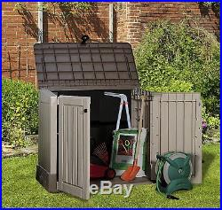 NEXT DAY DELIVERY Garden Storage Box Chest Patio Large Waterproof Outdoor Shed