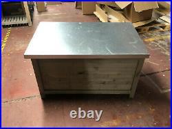 NQP GARDEN TRADING Large Aldsworth Outside Garden Storage Box Ref 1