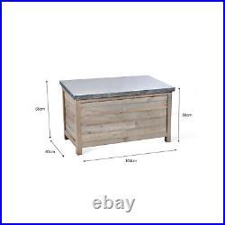 NQP GARDEN TRADING Large Aldsworth Outside Garden Storage Box SBWO01 Ref1