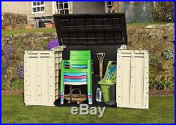 New Keter Garden Storage Box Outdoor Shed Extra-Large Garden Furniture Bike Shed