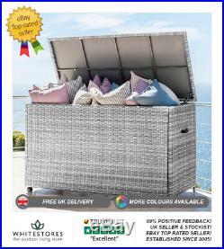Nova Outdoor Garden Patio Furniture Large Rattan Cushion Storage Box