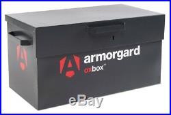 OXBOX Van Tool Store Box Heavy Duty Secure Site Steel Storage Vault 4 Sizes