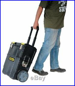 On Wheels Rolling Mobile Work Center Tool Box Heavy Duty Storage Extra Large