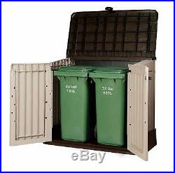 Outdoor Garden Storage Plastic Shed Heavy Duty Lockable Weather Proof Large Shed