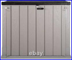 Outdoor Plastic Garden Storage Shed Tool Box Toys Cushion 842L Extra Large Size
