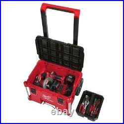 PACKOUT 22 in. Modular Tool Box Storage System Lid Strike Lockable Weather