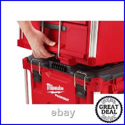 PACKOUT 2-Drawer Tool Box With Carrying Handles Portable Hand Tools Storage Boxes