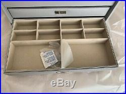 Pandora Large Dove Grey Jewellery Box Beautiful Box Loads of Storage