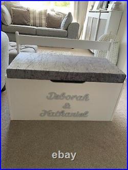 Personalised Seated Toy/storage Box EXTRA LARGE