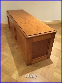 Pitch Pine Blanket Box Chest Large Size, Lots Of Storage