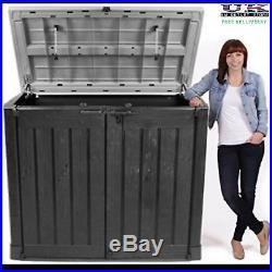 Plastic Storage Box xx Large Patio Garden Bike Outdoor Wheelie Bins Shed Keter