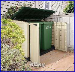 Plastic Store It Out Storage Box Extra Large Patio Garden Outdoor Boxe Solutions