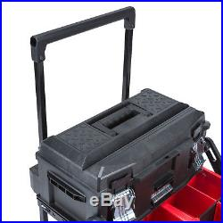 Portable Tool Box Chest Storage Rolling Cart Mobile Organizer Work Station Large