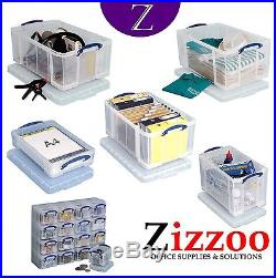Really Useful Boxes Genuine Item Various Sizes & Quantities Free P&p
