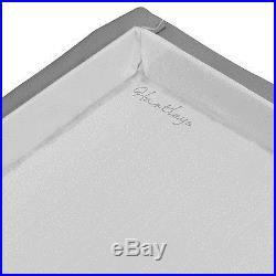 Rattan Footstool Large Storage Unit Bedding Box Cushion Chest Modern Set Of 2