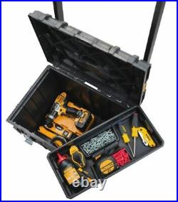 Rolling Tool Box Portable Modular Storage Toolbox Chest Organizer Case Tote Tray
