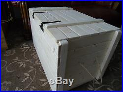 Rustic Style Large Storage Chest. Display Crate, Toy Box- Many Designs