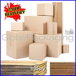 Single & Double Wall Cardboard Postal Removal Moving Boxes All Sizes / Qty's