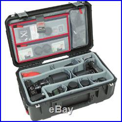 SKB Cases iSeries Case withThink Tank Designed Photo Dividers and Lid Organizer