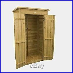 Sentry Box Shed Garden Narrow Storage Outside Large Unit Storage Tools Wooden