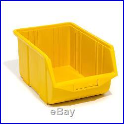 Set of 120 yellow large ECO-Box storage bin 35 x 22 x 16.5 cm, size 3