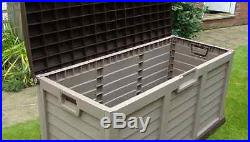 Starplast Plastic Garden Storage Box Chest Tools Patio Extra Large Outdoor Shed