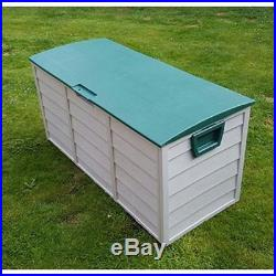 Storage Garden Plastic Shed Outdoor Box Large Patio Cabinet Garage Store Chest