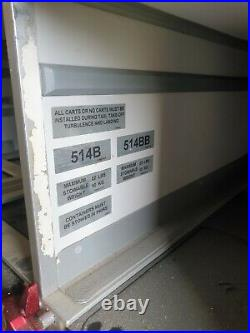 Storage full rear galley locker large white Aviation airbus a320 mancave