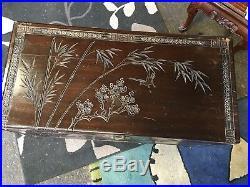 Stunning Carved Camphor Box- Large Decorative Storage Box Blanket Box