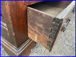 Stunning Large Antique Oak Mule Chest, Coffer, Storage Blanket Box, Drawers