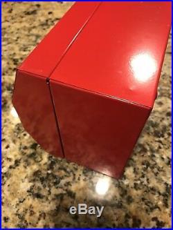 Supreme F/W 2014 ToolBox Metal Lock Utility Storage box Large Logo Key Lunch BK