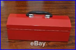 Supreme F/W 2014 Tool Box Metal Lock Utility Storage Large Logo Handle Key Lunch