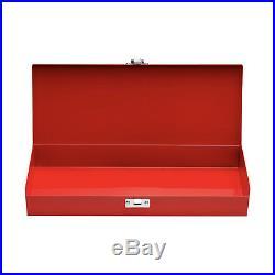 Supreme SS17 Metal Storage Box Logo Lock Red Accessories Tool Diamond Large