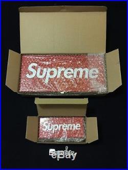 Supreme SS17 Metal Storage Box Set Box Logo Lock Box CDG Fender Everlast SS18