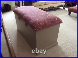 Susie Watson Fabric Covered Large Heavy Blanket/storage/bedroon Box