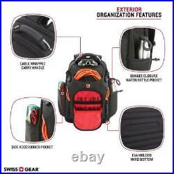 Tech Electrician Tool Bag Work Backpack Laptop USB Pocket Storage Box Organizer