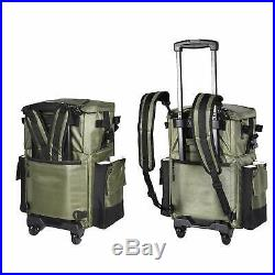 The X-Large'Recon' Rolling Fishing Backpack, Tackle Box Storage Bag Non-Corro
