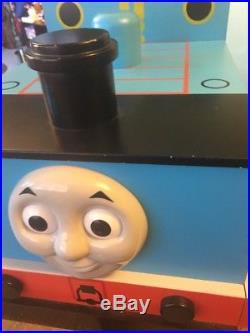 Thomas the train storage large wooden toy box