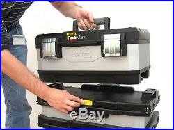 Tool Chest Box Mobile Rolling Workshop Storage Trolley Heavy Duty Wheels Cart