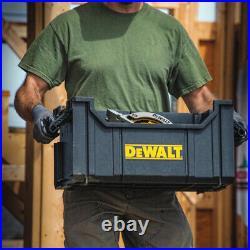 Tool Storage Box Set Mobile Dewalt ToughSystem 3-Pcs Rolling Chest Shop Job Site