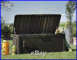 Toomax Florida 550L Outdoor Garden Storage Box Sit On Bench 148 x 72 x 60 cm