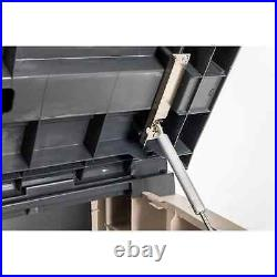 Toomax Stora Way Extra Large Garden Storage Box In Warm Grey 1270L Capacity NEW