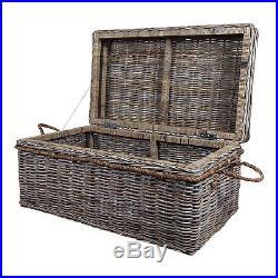 Truro Kubu Rattan Large Storage Box, Chest, Coffee Table