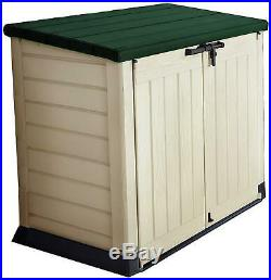 Ultra Large 1200L Garden Storage Box Outdoor Patio Chest Weather Resistant Lid